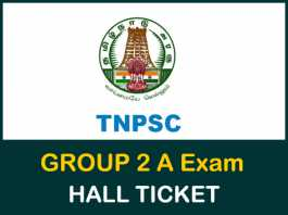 TNPSC-Group2a-Hall-ticket