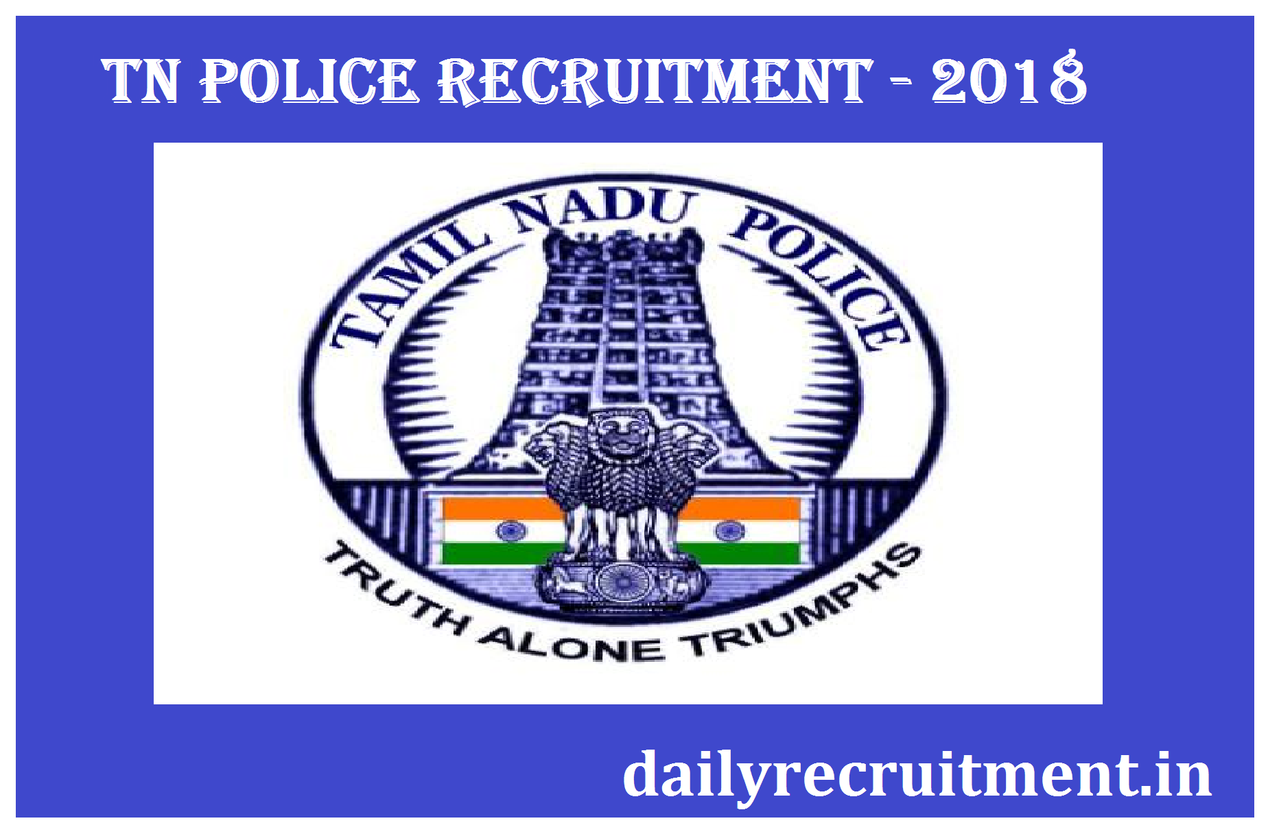 Tn police recruitment 2018 apply online for 6140 tnusrb constable tn police recruitment 2018 apply online for 6140 tnusrb constable other posts biocorpaavc Gallery