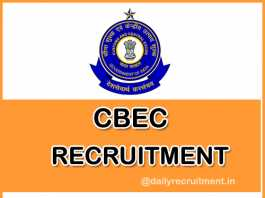 CBEC-Recruitment-Notification