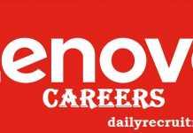 Lenovo Recruitment 2017