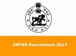 OMTES Recruitment 2017