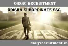 OSSSC Recruitment 2018