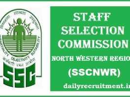 SSCNWR Recruitment 2017