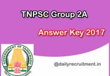 Tnpsc-group-a2-answer-key