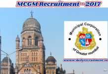 MCGM Recruitment