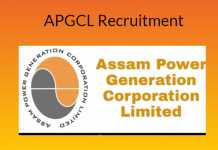 APGCL Recruitment