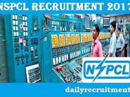 NSPCL Recruitment 2017