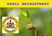 KSSCL Recruitment