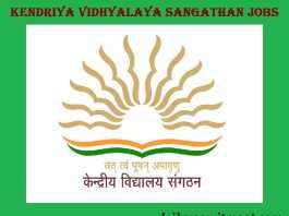 Kendriya Vidhyalaya Sangathan Recruitment 2017