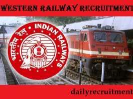 Western Railway Recruitment 2017