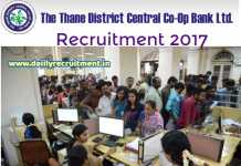 Thane DCC Bank Recruitment