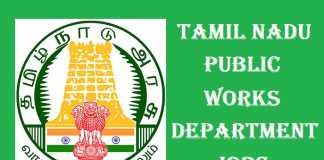 TN PWD Recruitment 2017