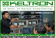 KELTRON Recruitment 2018