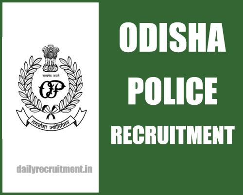 Odisha Police Recruitment 2017