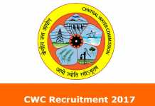 CWC Recruitment
