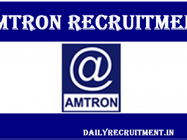 AMTRON Recruitment