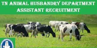 TN Animal Husbandry Recruitment 2018