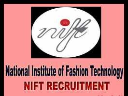 NIFT Recruitment 2018