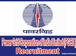 PGCIL Recruitment 2018