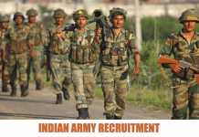 Join Indian Territorial Army Recruitment 2020