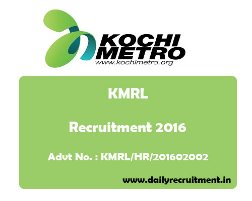 kochi-metro-rail-recruitment-kmrl-2016
