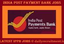 IPPB Recruitment 2019