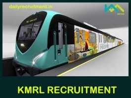KMRL Recruitment 2019