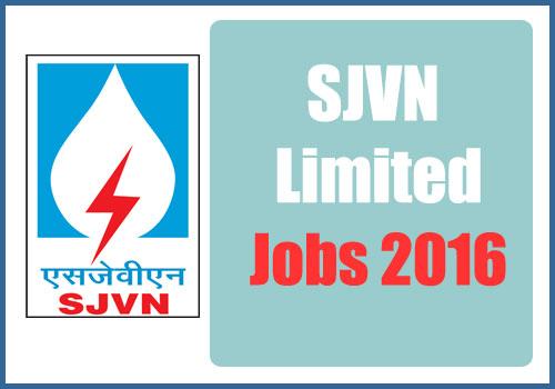 sjvn-limited-jobs