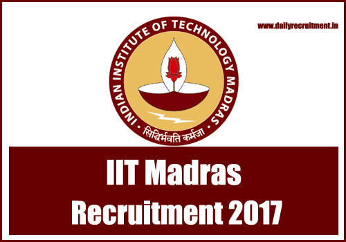 Madras-IIT-Recruitment
