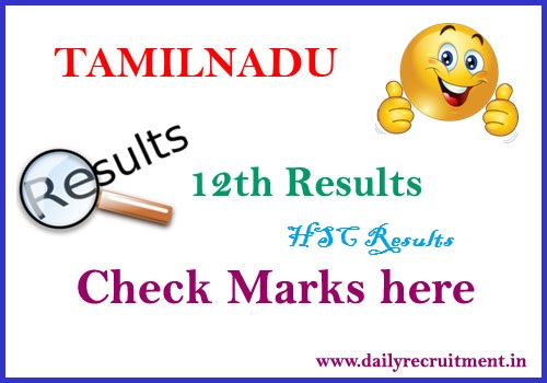 Tamilnadu 12th Result 2019