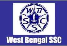 WBSSC Recruitment