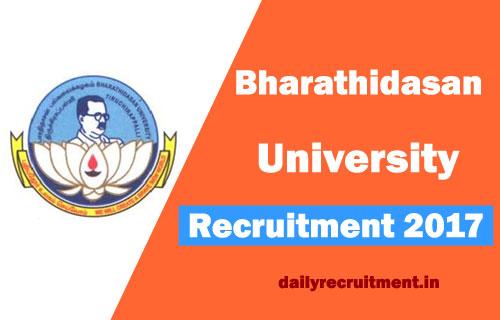 Bharathidasan-University--recruitment-result