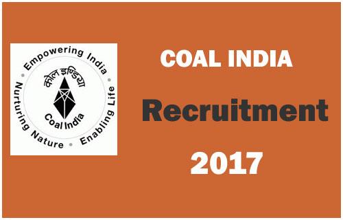 Coal-india-recruitment--2017