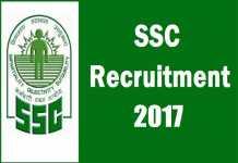 SSC Recruitment 2018