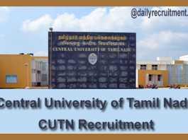 CUTN Recruitment 2019