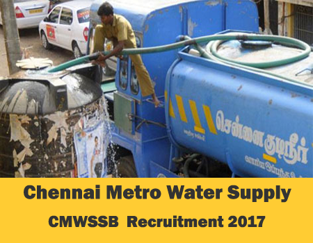 Chennai-Metro-Water--CMWSSB-Recruitment