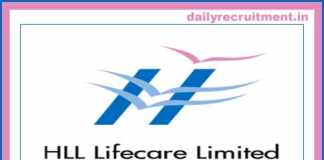 HLL Lifecare Recruitment 2019