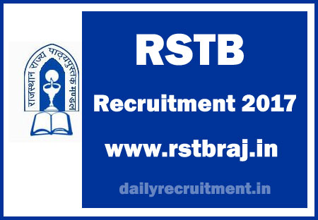 RSTB-Recruitment-2017-Notification