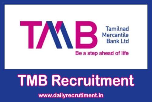 TMB Recruitment 2020