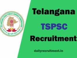 TSPSC Recruitment 2018