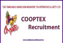 tamilnadu co-optex recruitment