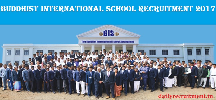 Buddhist International School Recruitment 2017