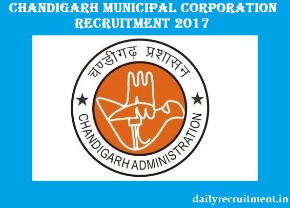 Chandigarh Municipal Corporation Recruitment
