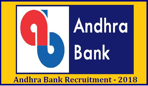 Andhra Bank Recruitment 2018