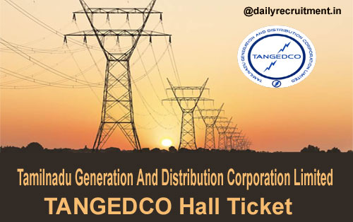 TANGEDCO Hall Ticket 2019