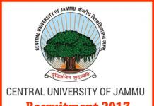 Central-univeristy-Jammu-Jobs