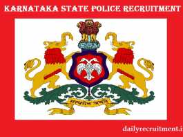 KSP Recruitment 2019