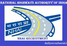 NHAI Recruitment 2019