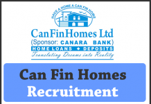 Can Fin Homes Recruitment 2018