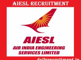 AIESL Recruitment 2018